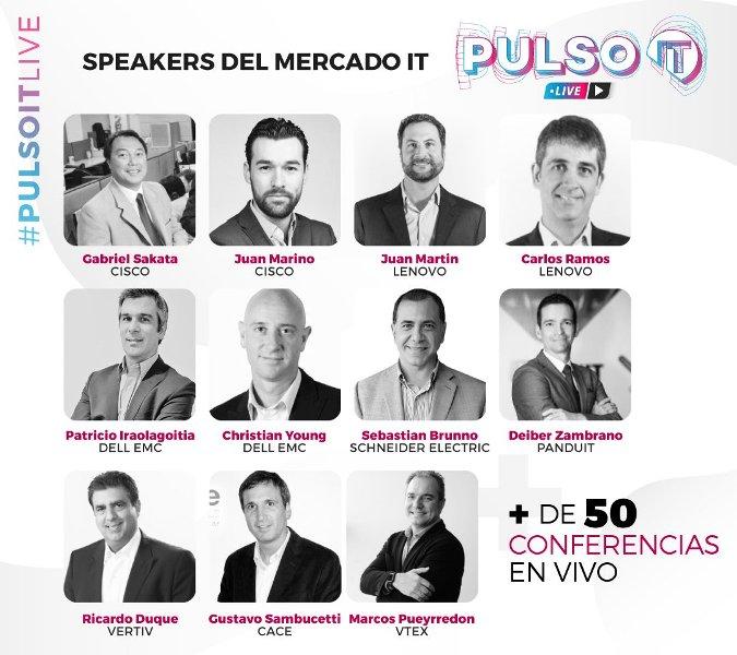 Pulso IT 2020 con más de 50 conferencias en vivo