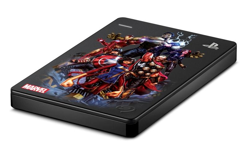 Defienda el universo de Marvel con la edición limitada delGameDrivede Seagate para PS4 MarvelAvengers