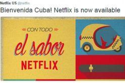 Netflix ofrece servicios en Cuba