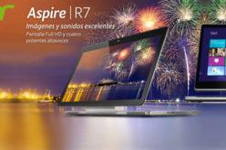 Acer Aspire R7, el ultraportatil que se convierte en tablet o PC de escritorio