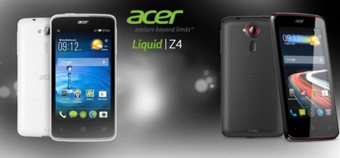 Todo sobre el Acer Liquid Z4