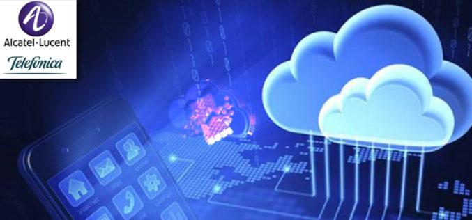 Alcatel-Lucent y Telefonica se unen  para reforzar la Nube