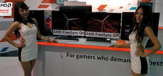 AMD y sus socios en tecnologia presentan pantallas con FreeSync