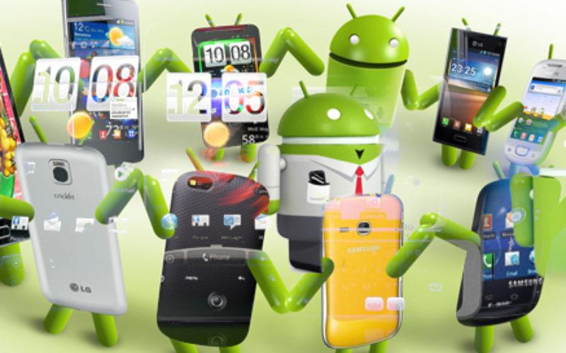 Android y su fragmentacion: casi 12,000 modelos diferentes