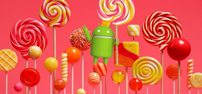 Google anuncio que su nuevo sistema operativo, Android Lollipop