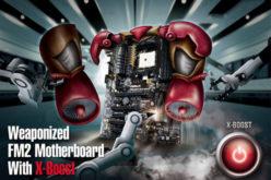 ASRock presenta nueva Serie de placas madres FM2 equipada con X-Boost