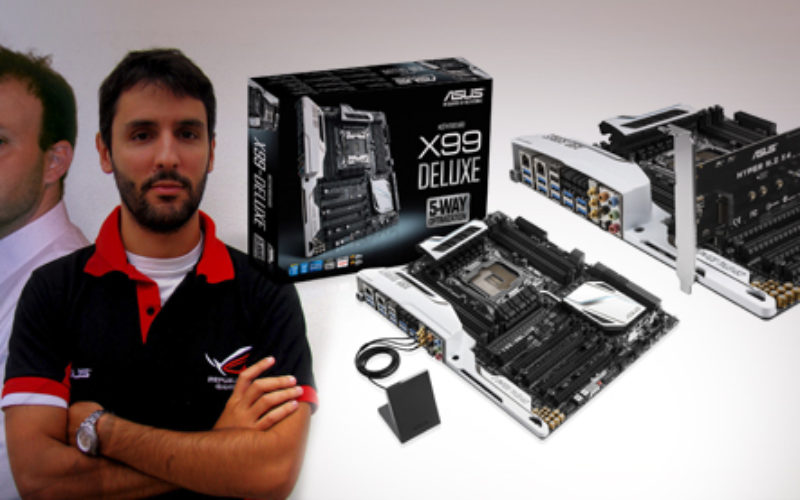 ASUS anuncia su linea de motherboards X99
