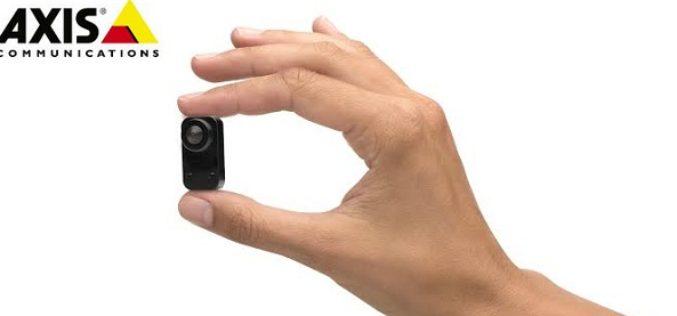 Axis lanza nuevas camaras en miniatura para videovigilancia
