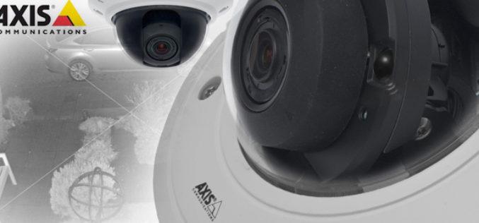 Axis lanza camara que provee imagenes en blanco y negro