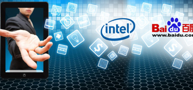 Intel se afilia con Baidu para el desarrollo de aplicaciones moviles