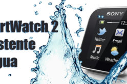 Sony SmartWatch 2, resistente al agua