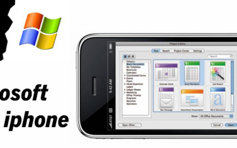 Microsoft ofrece version de Office para iPhone