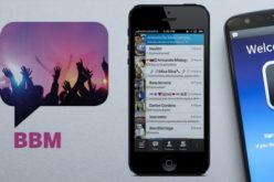 BlackBerry Messenger llega al iPad