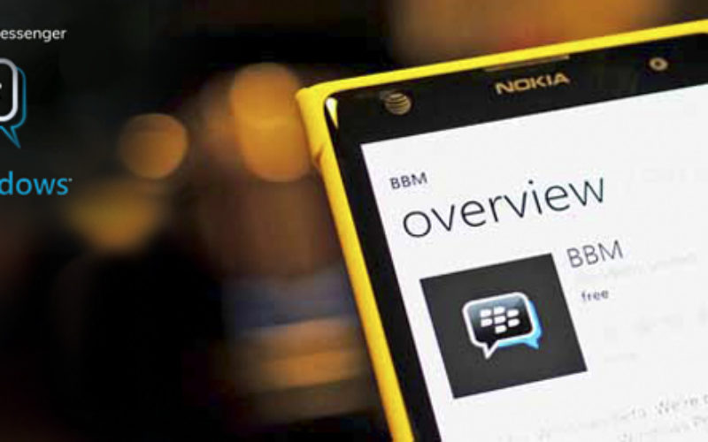 Llega la beta de BlackBerry Messenger para Windows Phone