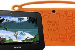 Positivo BGH lanzo Ypy Kids, una tablet disenada para chicos