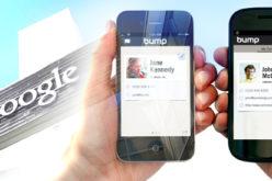Google adquiere la app de intercambio movil de archivos Bump