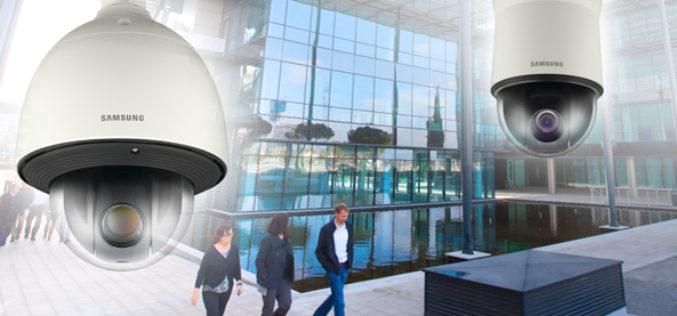 Las nuevas camaras PTZ de Samsung Techwin