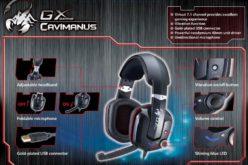Genius presenta nuevos auriculares profesionales para Gamers