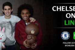 El Chelsea abre cuenta en LINE