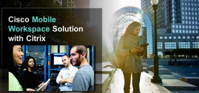 Cisco y Citrix se enfocan en la movilidad empresarial