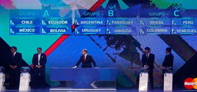 MasterCard transmitio en vivo el sorteo Copa America 2015 via streaming online