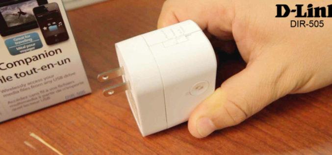 D-Link presento el routers DIR-505 SharePort