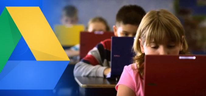 El nuevo Drive for Education de Google