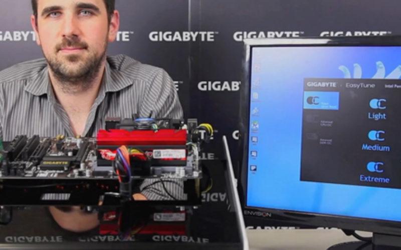 GIGABYTE presenta EasyTune App para Overclocking