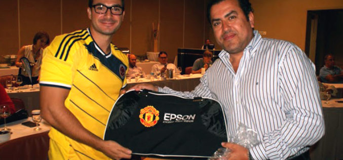 Epson presented new products at the World Cup