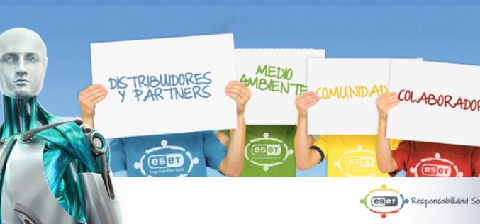 ESET presenta plan de Responsabilidad Social Empresaria