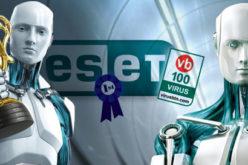 ESET ha recibido por decimo ano consecutivo el premio VB100