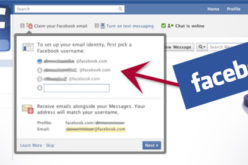 No mas servicio de correo con Facebook