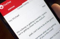 FireChat: para usuarios de Android y iOS