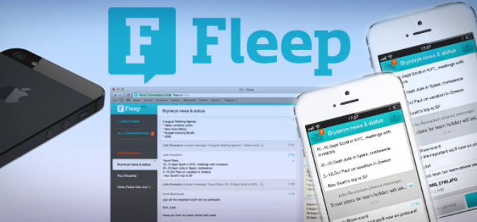 Fleep wishes to bridge the gap between E-mail and messaging