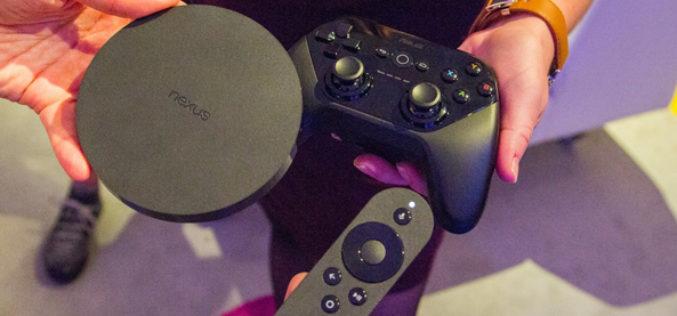 Google presento un gamepad para el Nexus Player