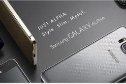 Samsung presento el Galaxy Alpha