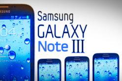 Samsung Galaxy Note 3, la produccion en masa comenzaria en Agosto