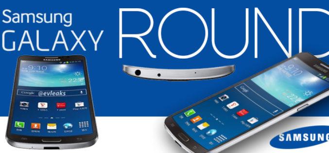 Samsung presenta el Galaxy Round