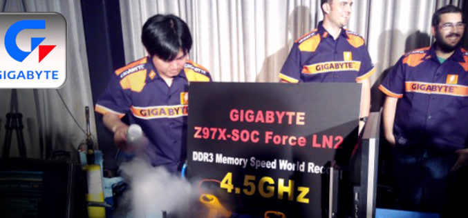 GIGABYTE marca nuevos records con Z97X-SOC FORCE LN2