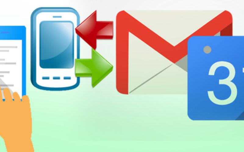 Posible descarga de los datos de Gmail y Calendar