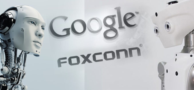 Nuevo desarrollo de Google y Foxconn
