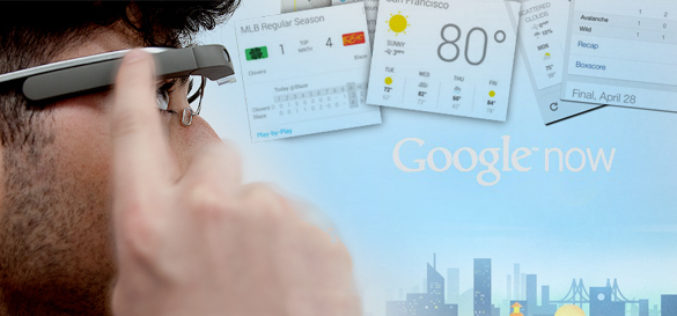 "Google Glass recibe actualizacion, con ""cards"" de Google Now"