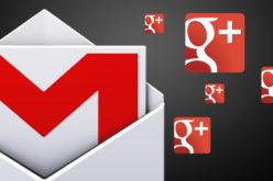Google+ une sus contactos con Gmail