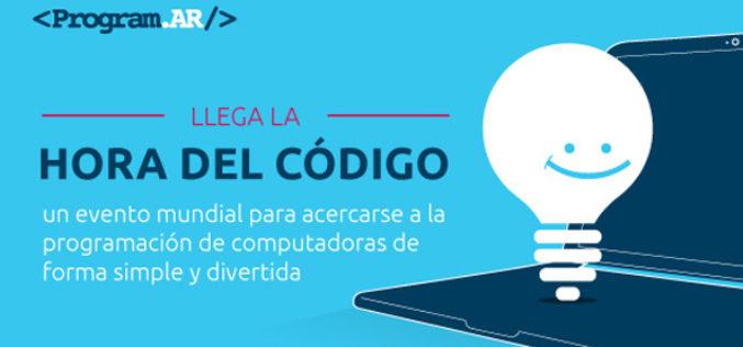 """""""La Hora del Codigo"""" en Program.AR"""