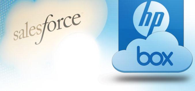 Salesforce y HP se unen a la nube