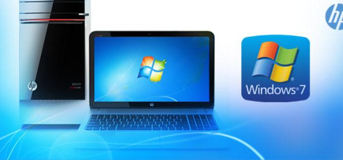 HP ofrece Windows 7