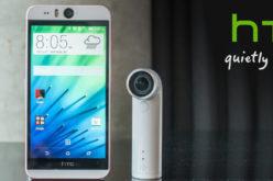 HTC presenta nuevo smartphone y camara portatil