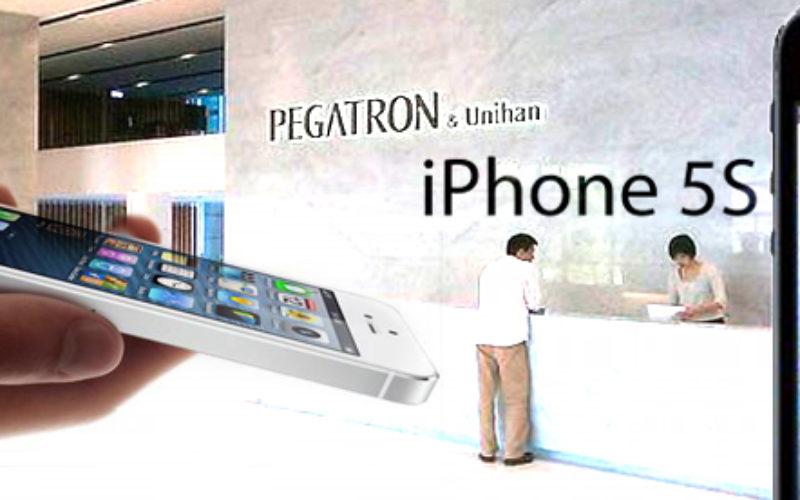 Apple encargara la produccion del iPhone 5s a Pegatron