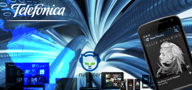 Telefonica will work with Rhapsody, bringing Napster into Latin America
