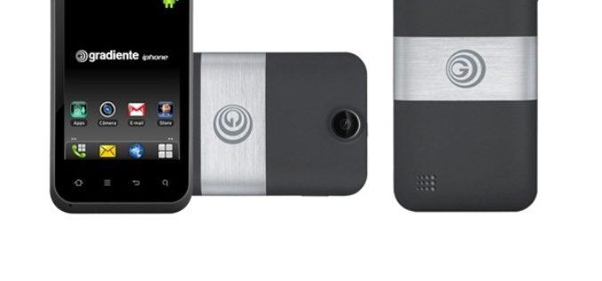 Empresa de Brasil desafia a Apple y lanza un telefono llamado iphone